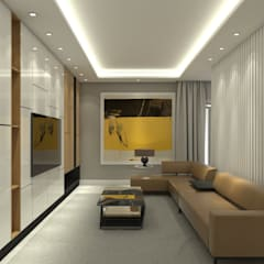 Residential Unit - Landed:  Living room by Trenocon Sdn Bhd