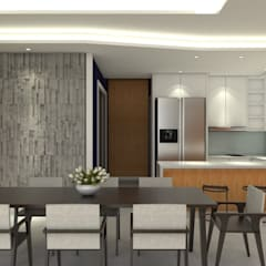 Residential Unit - Landed:  Dining room by Trenocon Sdn Bhd