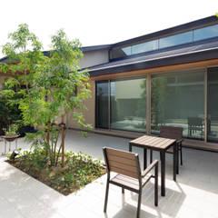 竈山の家Ⅰ オリジナルデザインの テラス の 株式会社田渕建築設計事務所 オリジナル