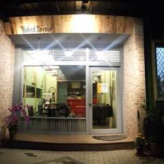 美式  鄉村:  餐廳 by 沙瑪室內裝修有限公司
