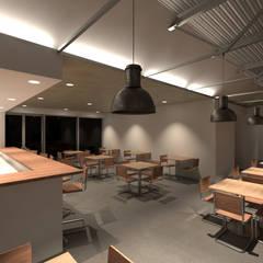 Bares y Clubs de estilo  por Divers Arquitectura