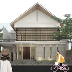 bale house:  Rumah by midun and partners architect