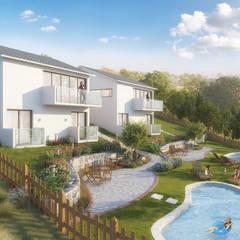Luxury Housing - Isle of Wight - England - Day:  Country house by Panoviz Studios