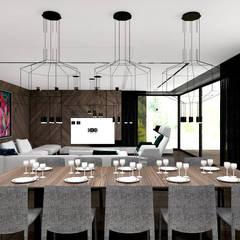 FIND YOUR WAY HOME | I | Wnętrza domu: styl , w kategorii Jadalnia zaprojektowany przez ARTDESIGN architektura wnętrz,