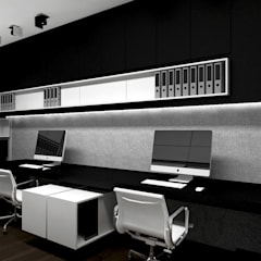 FIND YOUR WAY HOME | I | Wnętrza domu: styl , w kategorii Domowe biuro i gabinet zaprojektowany przez ARTDESIGN architektura wnętrz