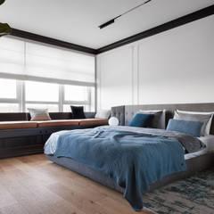 Neoclassical Virility Спальня в эклектичном стиле от V.Concept studio Эклектичный