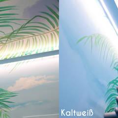 Durch professionelle Lichtplanung - Badezimmer mit Strandfeeling:  Badezimmer von Moreno Licht mit Effekt - Lichtplaner