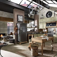 Built-in kitchens by Dialma Brown México,