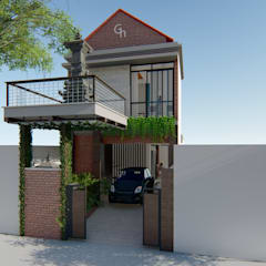G-Houses:  Ruang Komersial by Aper design