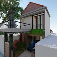 G-Houses: Ruang Komersial oleh Aper design, Modern