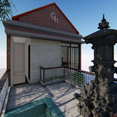G-Houses: Rumah Sakit oleh Aper design, Modern