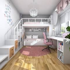 Nursery/kid's room by Projektowanie Wnętrz Online