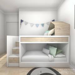 Boys Bedroom by Projektowanie Wnętrz Online,