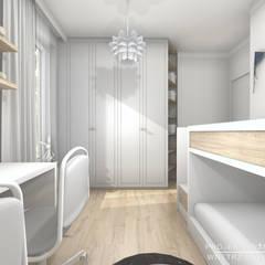 غرفة نوم أولاد تنفيذ Projektowanie Wnętrz Online