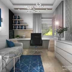 Study/office by Projektowanie Wnętrz Online