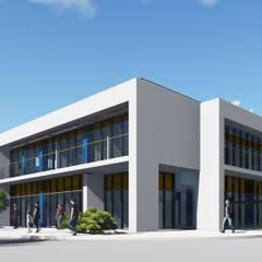 Административное здание с магазином: Офисы и магазины в . Автор – Ar-Deko,