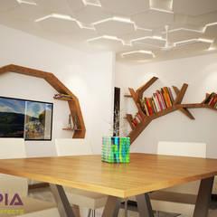 Utopia Interiors & Architect:  tarz Oturma Odası