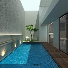 Pool by M I D S T Interiors