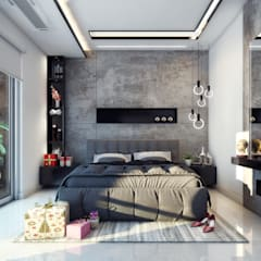 Small bedroom by Goswami Decor, Modern
