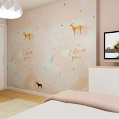 Girls Bedroom by Glim - Design de Interiores,