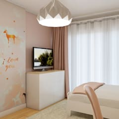 Girls Bedroom by Glim - Design de Interiores