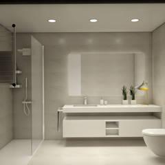 Kamar Mandi oleh Glim - Design de Interiores