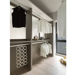 Vestidores y placares de estilo  por 寓子設計