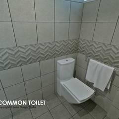 Hougang Street 22:  Bathroom by Swish Design Works