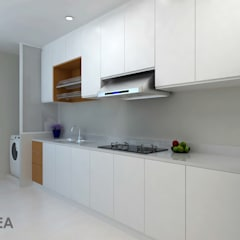 Ang Mo Kio Ave 10:  Built-in kitchens by Swish Design Works,Classic