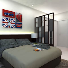 Ang Mo Kio Ave 10:  Small bedroom by Swish Design Works,Classic