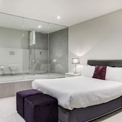 Apostles View:  Bedroom by FRANCOIS MARAIS ARCHITECTS,