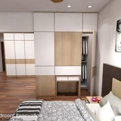 Spanish Village :  Bedroom by Swish Design Works,Scandinavian