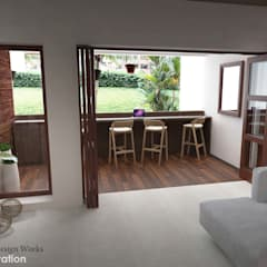 Balkon oleh Swish Design Works