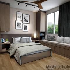 Yishun Ave 6:  Small bedroom by Swish Design Works,Scandinavian