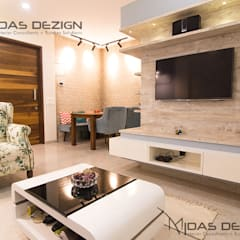 Living room by Midas Dezign