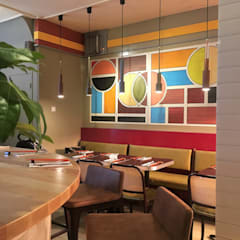 Restaurant Raen Lee - Arnhem:  Gastronomie door FUGA Design Company, Modern