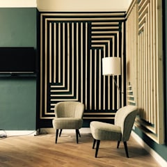 Kantoorontwerp Fourcorners - Arnhem Moderne kantoorgebouwen van FUGA Design Company Modern Hout Hout