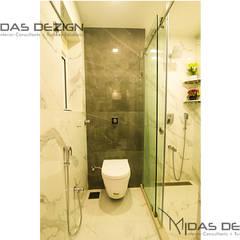 4BHK, Next to Amitabh Bachchan's Bunglow:  Bathroom by Midas Dezign,Modern