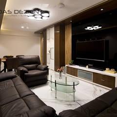 Living room by Midas Dezign, Modern