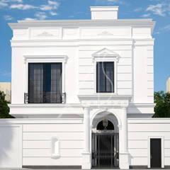 Neoclassical Saudi Arabian House Design:  Villas by Comelite Architecture, Structure and Interior Design