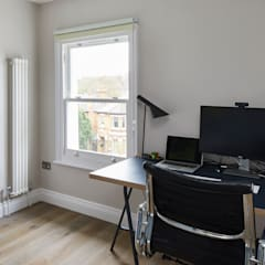 Home Renovation, Forest Hill, London:  Study/office by Resi Architects in London