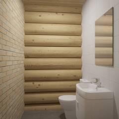 Баня у пруда: Ванные комнаты в . Автор – Альберт Галимов