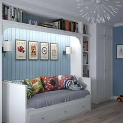 Трехкомнатная квартира: комнаты для новорожденных в . Автор – Альберт Галимов