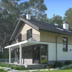 Casas unifamiliares de estilo  por Альберт Галимов