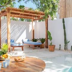Comedores de estilo  por Hipercubo Arquitectura