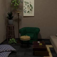 Render: Livings de estilo  por Se Camper Design