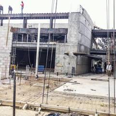 Construcción: Paredes de estilo  por FG-Arquitectos