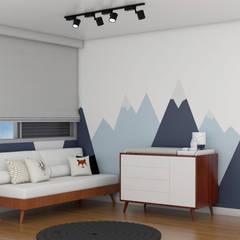 Dormitorios de bebé de estilo  por Aline Frota Interiores + Retail Design, Moderno