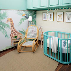 Baby room by Aline Frota Interiores + Retail Design