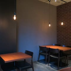 FORNO: 田所裕樹建築設計事務所が手掛けたレストランです。,インダストリアル コンクリート